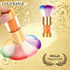 Nail Art Dusting Dust Gold Premium Cleaning Brush