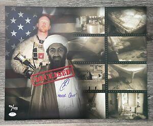 "U.S. Navy SEAL Robert O'Neill Signed Osama Bin Laden ""Death Scene"" 16x20 Ltd/911"