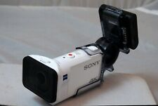 Sony FDR-X3000R 4K Action Camcorder with Live-View Remote - White + EXTRAS