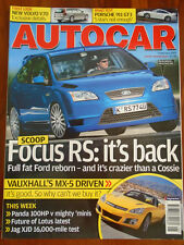 Autocar 7/2/07 Porsche 911 GT3, Fiat Panda 100HP vs Ford SportKa vs Swift Sport