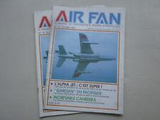 AIR FAN 76 12S PATMAR GARDIAN ALPHA JET CANBERRA N° 74 SQUADRON TIGER RAF 14F