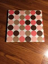29980 Photo Album, 10 Pages,dot/stripe Album Asst.