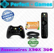 Pack essentials Microsoft XBOX 360 manette sans fil télécommande XBOX LIVE GOLD