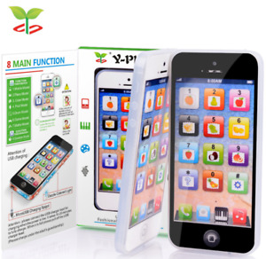 Kids Baby Toys Mobile Phone Education Learning Puzzle Touch Yphone Children