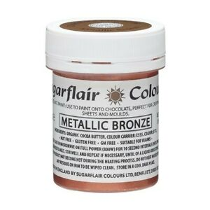 Sugarflair Food Colouring Paste for Chocolate Concentrated Paint 20 Colours