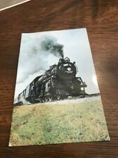 Vintage Train Post Card Grand Trunk Western