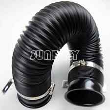 3inch/75mm Auto Universal Turbo Air Intake Inlet Hose Pipe tube Kit Pure Biack