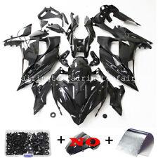 For Kawasaki Ninja 650 ER6F 2017-2019 Gloss Black Fairing Kit Injection Bodywork