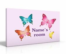 Children's Butterflies Plaques and Signs