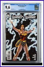 Wonder Woman #39 CGC Graded 9.6 DC February 2010 White Pages Comic Book.