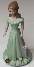 Vintage 1982 Enesco Growing Up Girls 15th Birthday Figurine Brunette