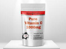 La vitamina C 1000mg Capsule 90, 180, 360 sistema immunitario BOOSTER ACIDO ASCORBICO 365