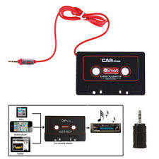 AUX Audio Plug 3.5mm Car Cassette Tape Adapter Converter for iPhone iPod Mp3 CD