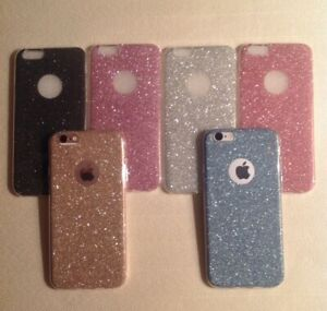Glitter Sparkly Back Fits Iphone Soft Bling Shockproof Silicone Case Cover 54a