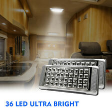 Pair 12V LED Interior Ceiling Cabin Spot Light For Caravan Camper Boat Dome Lamp