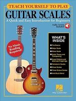 Teach Yourself to Play Guitar Scales : A Quick and Easy Introduction for Begi...