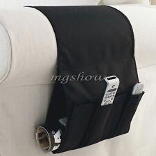 Sofa Couch TV Remote Control Holder Arm Rest Organizer Storage Bag Pouch Pocket
