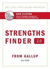 StrengthsFinder 2.0 by Tom Rath (2007, Hardcover)            b1