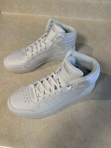Adidas NEO Hoops 2.0 Mid [B42099] Women Casual Shoes White/White