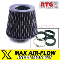 Induction Kit Performance Air Filter – Cone, Carbon Fibre Effect Fits Audi
