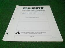 Kubota B300 Cultivator Owners Manual For B Series