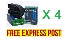 (S) 4 x TIOGA 700 x 28 - 32C SCHRADER 48MM TUBE AMERICAN VALVE - EXPRESS POST