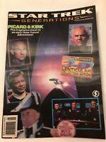 Vintage 1994 Star Trek Generations Magazine Picard & Kirk