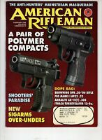 American Rifleman Magazine NRA Feb 1998 Polymer Compact UZI Eagle  Sigarms