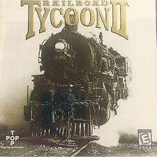 Railroad Tycoon ll Computer Game 3D Railroad Cars Great Graphics