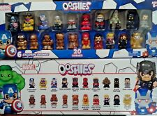 OOSHIES Exclusive Items 20 Marvel Ooshies Set of 5 Bronz 1 Golden Thanos V2 + 14