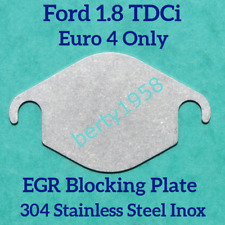 EGR valve Blanking plate Ford 1.8 TDCi Connect Focus Mondeo Galaxy cmax Euro 4