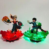 Led Midoriya Izuku vs Katsuki Bakugo, figure set, My Hero Academia, BNHA