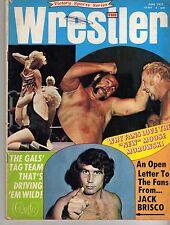 THE WRESTLER JUNE 1973 JACK BRISCO NICK BOCKWINKEL SUSAN GREEN (ACCEPTABLE) WWF