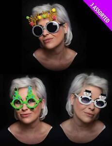 New Novelty Christmas Fancy Dress Glasses (54588)