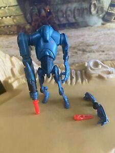Star Wars ROTS Super Battle Droid 2004 Action Figure Hasbro Kenner 141
