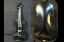 """Hand made bkack 5strings 15"""" electric acoustic viola,Maple+Spruce Powerful Sound"""