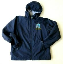 Disney Magic Kingdom Hoodie Jacket Youth XL Fleece Lined Navy Blue/Gray