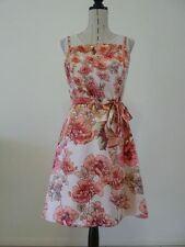 Polyester Formal Floral Tea Dresses