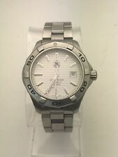 TAG HEUER AQUARACER AUTOMATIC CALIBRE 5 WATCH WAP2011.BA0830 41MM STAINLESS