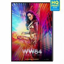 Wonder Woman 1984 WW84 2020 Gal Gadot Movie *LAMINATED* Poster | A5 A4 A3 A2 A1