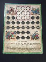 Brettspiel  Festungsspiel Belagerungsspiel 19. Jhd. Deutschland