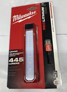 New Milwaukee 2112-21 Rover USB Rechargeable 445 Lumens Pocket Flood Work Light