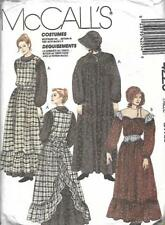 McCall's 4229 Costumes Misses Pioneer Prairie Dress & Bonnet Size Large 18-20
