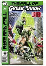 Green Arrow Black Canary 32 DC 2010 NM Rise And Fall Lantern Flash JLA