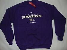NFL Baltimore Ravens Sweatshirt Adult Football Size Medium Purple NFL NEW NWT