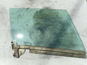 PORSCHE 911 TARGA DOOR WINDOW GLASS RIGHT RAIL TINTED CARRERA CABRIOLET CONVERTI