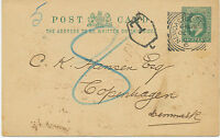 """2455 """"NEWCASTLE-ON-TYNE / 6"""" scarce Squared Circle Postmark with code """"6"""" ps"""