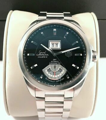 2018 Tag Heuer Grand Carrera Calibre 8 Mens Watch Automatic in Exc Cond WAV5111