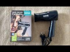 Nova Hair Dryer NHP-8100 Foldable 1200 Watts Hot & Cold