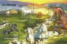 Timbres Chevaux Niger 2826/9 o année 2015 lot 19541 - cote : 20 €